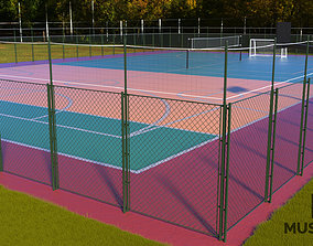 Sport area 3D asset