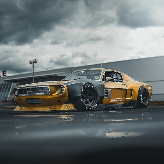 Ford mustang 69 Widebody kit
