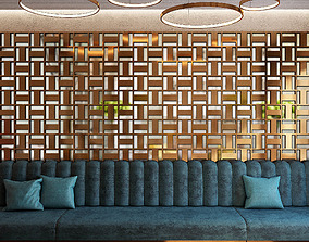 3D Wall Panel Set 31