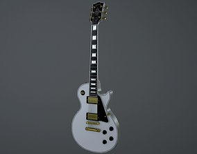 3D model Gibson Les Paul Custom Electric Guitar