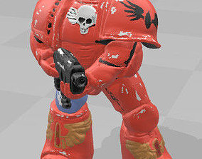 Warhammer model Space marine space