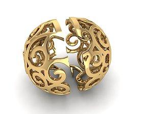 Ornament ball earring 450 3D printable model
