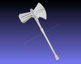 Asgardian Handle Stormbreaker Assembly 3D print model