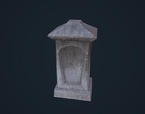 3D asset Tombstone