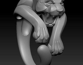 Pantere ring ready for print 3D printable model
