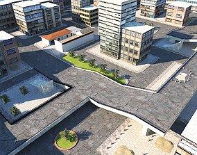 City Scene 3 3D asset