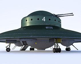 Nazi UFO Haunebu 2 3D