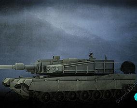 3D asset K2 Tank