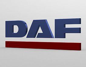 daf logo 3D