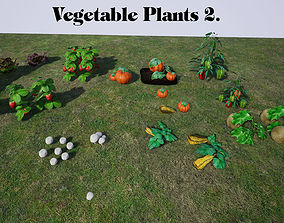Vegetable Plants 2 for UNREAL 3D model