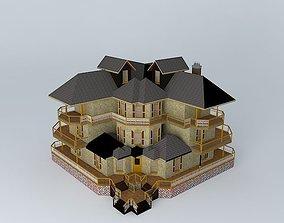 Large City House 3D