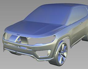 2018 Jeep Compass 3D Scan Data 3D model 3D print model