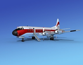 Lockheed L-188 Electra HP PSA 2 3D
