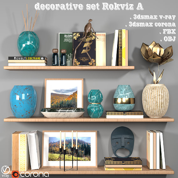 decorative set Rokviz A