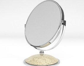Round table mirror furniture 3D