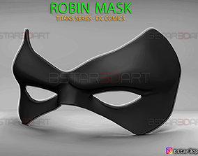 Robin Eyes Mask - TITANS season 3 - DC 3D print model 1
