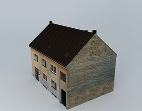 European Style Small Building 3D model