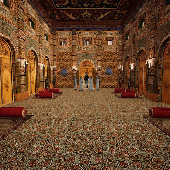 Arabic senate house