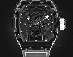 3D model Richard Mille RM 56-02 Sapphire Watch mens