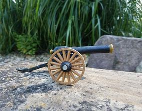 3D printable model Civil War Parrot Rifle