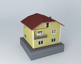 Osman C House 3D model