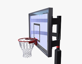 3D model realtime Basketball Hoop