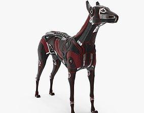 3D model Cyborg dog
