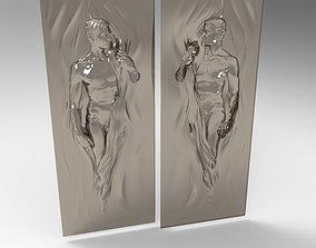 Men 3D print model