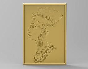 Queen NEFERTITI 3D print model
