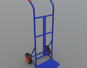 Sack Truck 3D model