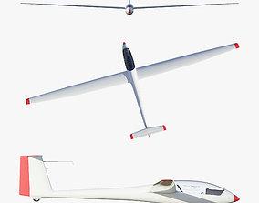 Rolladen-Schneider LS4 Glider 3D