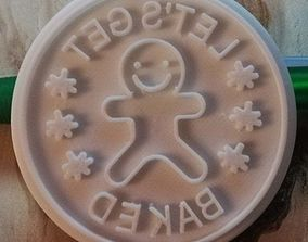 cookie stamp 1 3D printable model