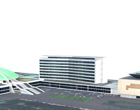 MPR DPR indonesian Building 3D model