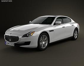 Maserati Quattroporte 2013 3D