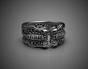 Scorpion Ring 3D printing STL 3D print model US