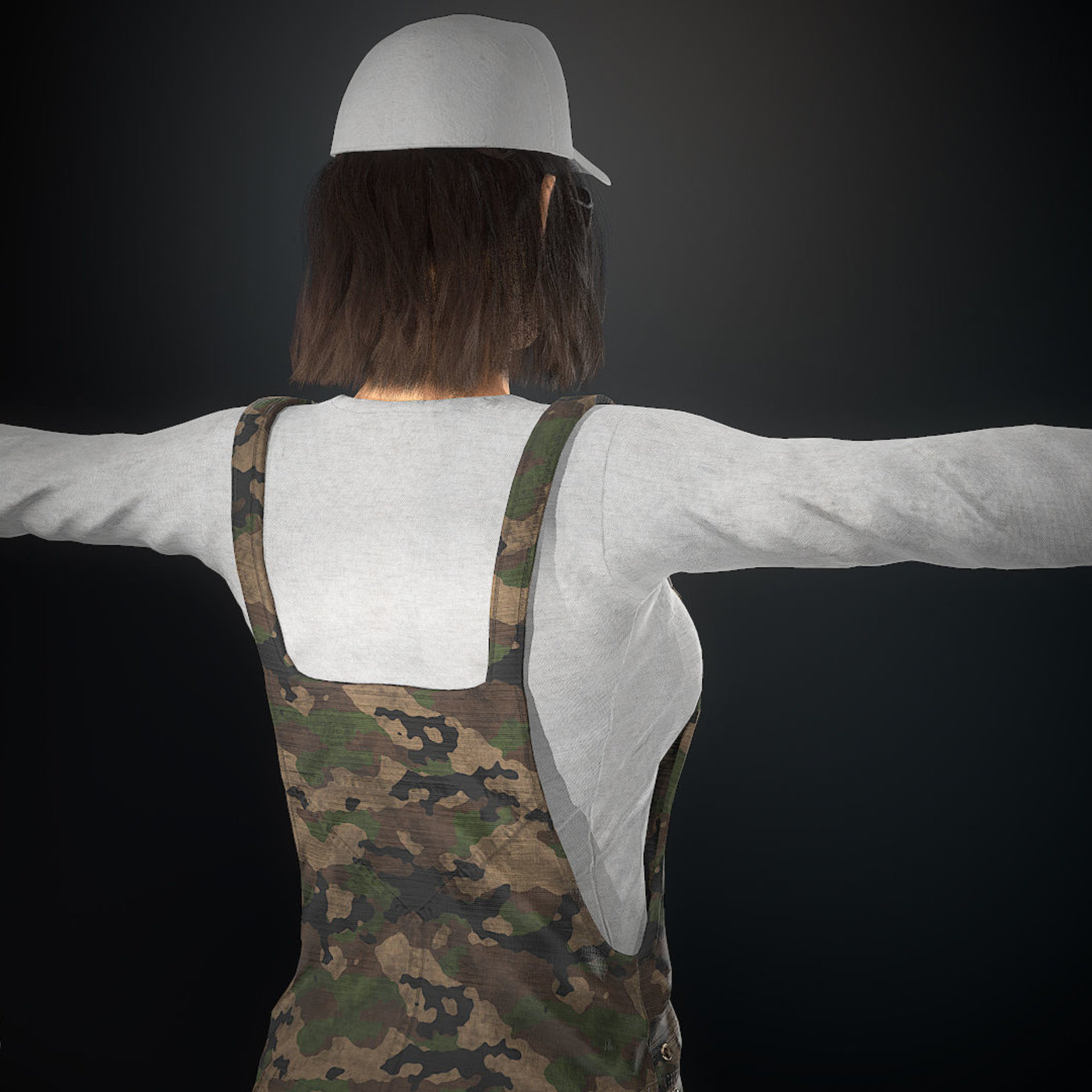 Army Female character