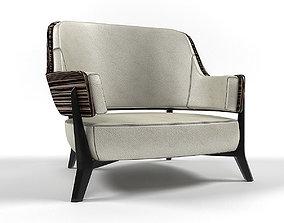 3D Lowe lounge armchair