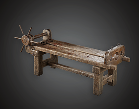 3D model Torture Table - MVL - PBR Game Ready