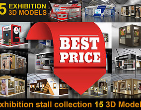 15 3d Models of Exhibition Stall interior