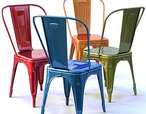 Tolix metal chair 3D model
