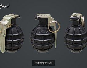 3D Yugoslav Hand Grenades hand