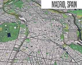 3D Madrid Spain