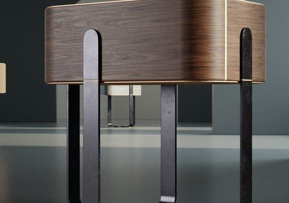 Furniture Bedside cabinet 002
