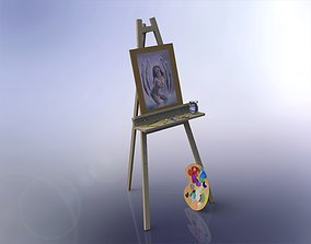 3D The easel