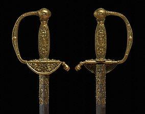 3D SOLDIER Napoleon Sword