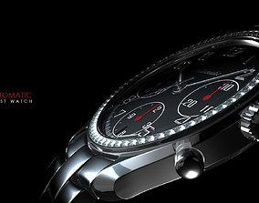 Wrist Watch 3D Product Model