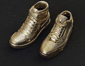 3d model of Jordan 1 and 3 Retro Shoes