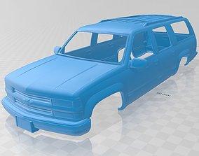 Suburban 1999 Printable Body Car