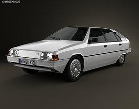 Citroen BX 1984 3D