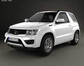 3D Suzuki Grand Vitara 3-door 2012